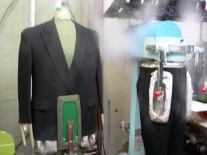 スーツの汗抜き